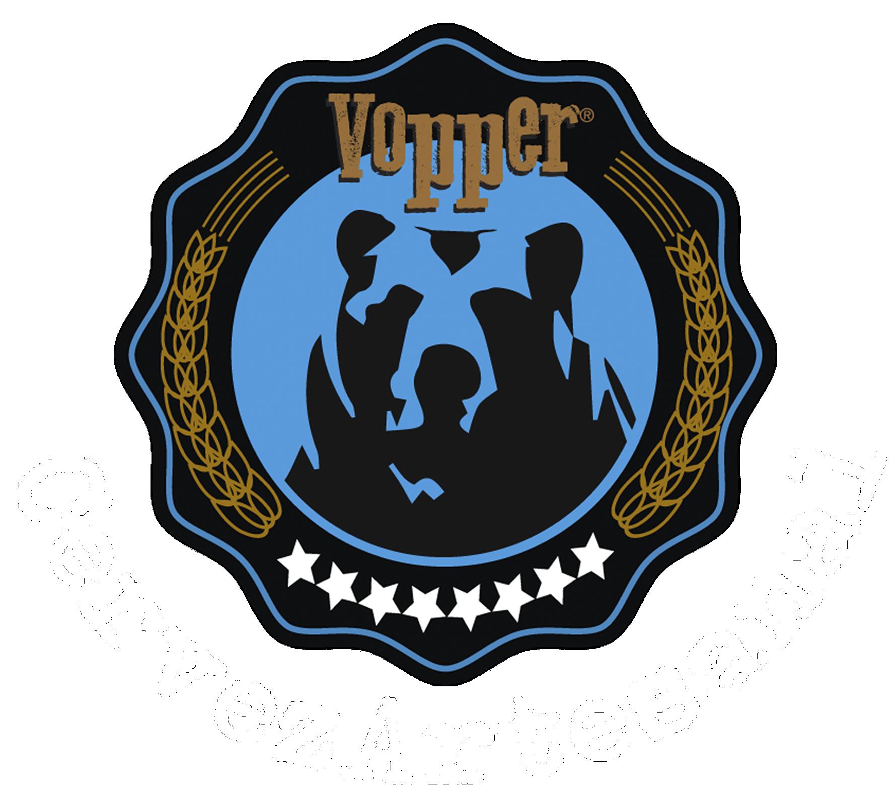 Logo oso azul texto OKesptextoblanco